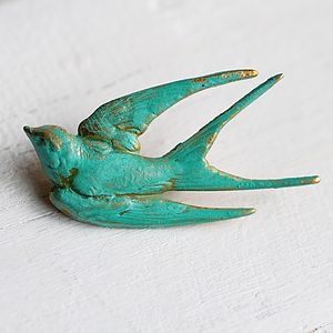 Bird Brooch
