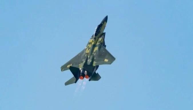 F-15EX ilk uçuşunu yaptı (Dijital omurga ile geliyor)