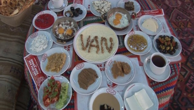 Kahvaltının başkenti: Van