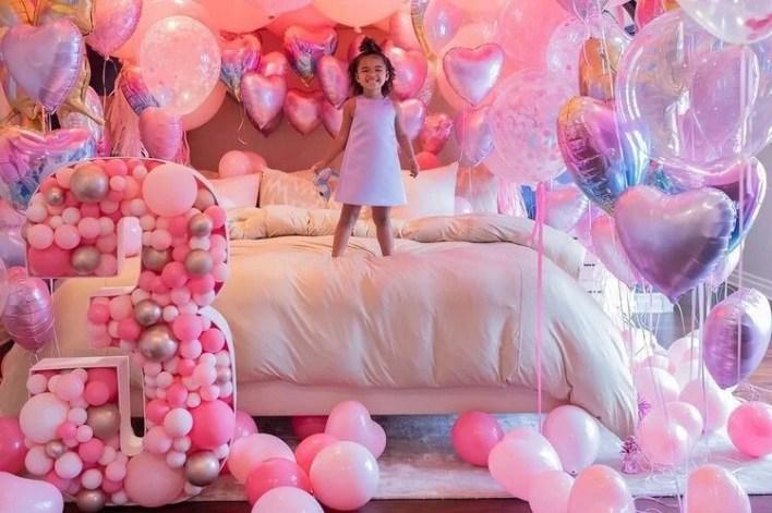 Khloe Kardashian's daughter Doğru is 3 years old - 15