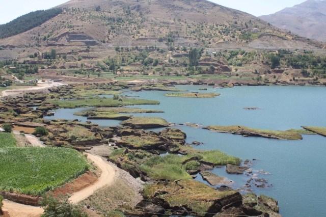 Baraj gölündeki yüzen adalar sabitlenecek - 9