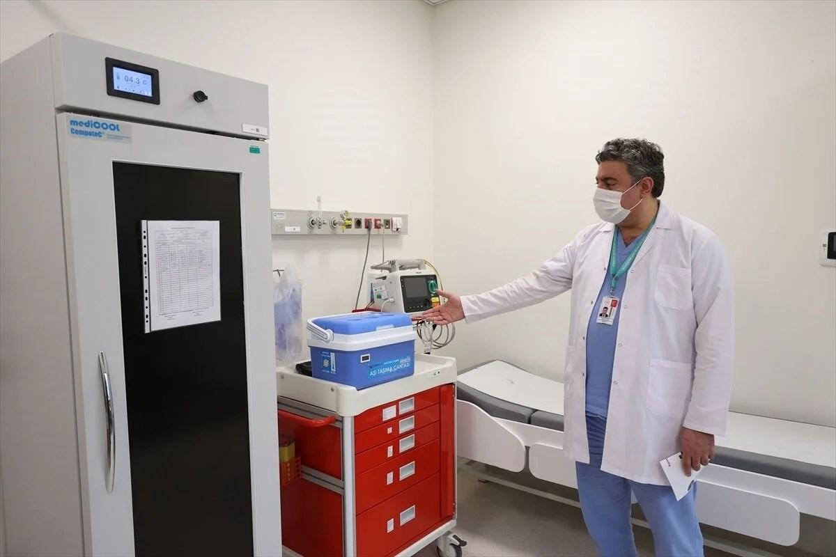 İstanbul'da Covid-19 aşı odaları için hazırlıklar tamamlandı - 2
