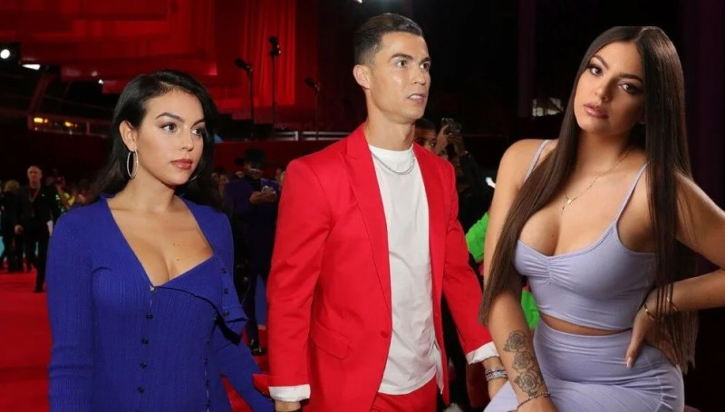 Cristiano Ronaldo'nun eski sevgilisi Natacha Sofia'dan Georgina Rodriguez'e: Seni de bir kenara bırakır
