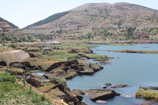 Baraj gölündeki yüzen adalar sabitlenecek - 14