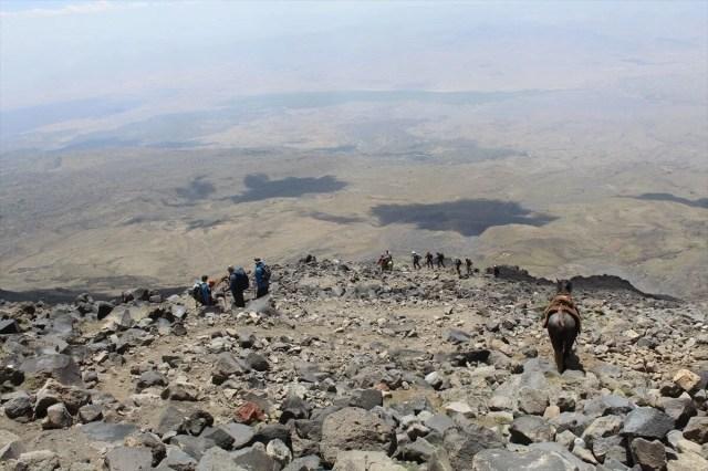 Ağrı Dağı'nda dağcıların en büyük yardımcısı: Türkiye'nin yerli 'şerpa'ları - 16