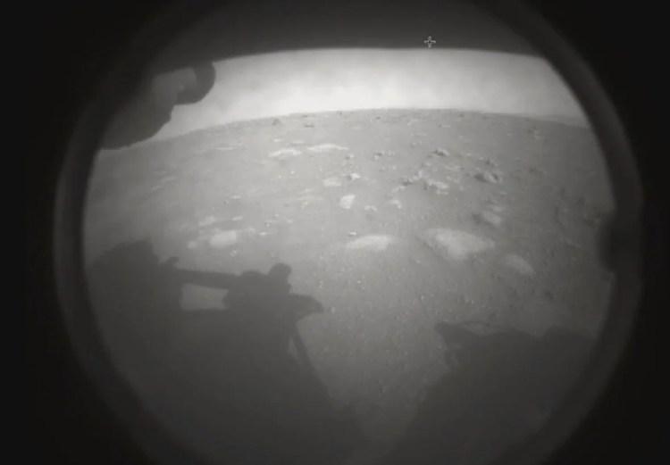 Mars'tan ilk fotoğraf