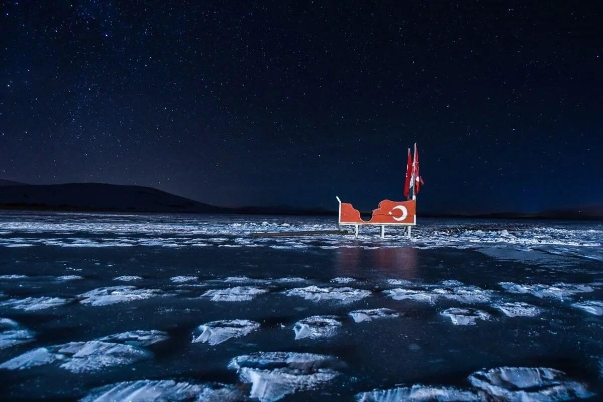 Çıldır Gölü'nde kartpostallık görüntüler - 3