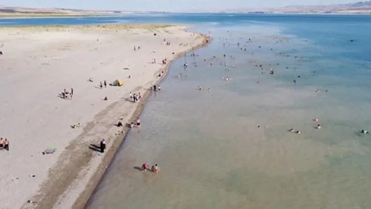 'Bozkırın plajı'na dev yatırım
