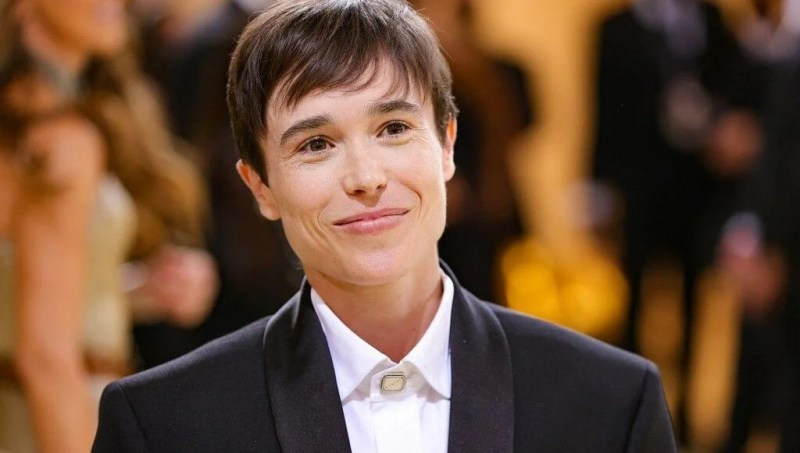 Trans olduğunu açıklayan oyuncu Elliot Page flört uygulamasında görüldü