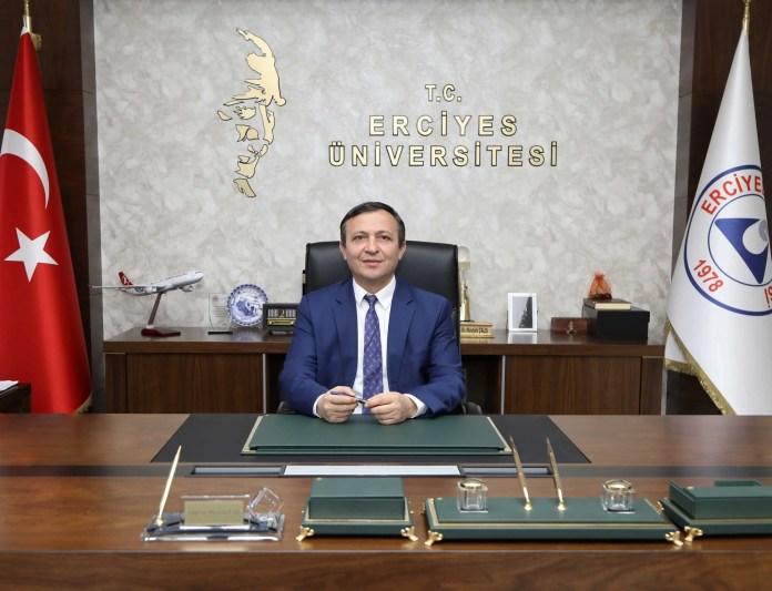 ERÜ Rektörü Prof. Dr. Mustafa Çalış