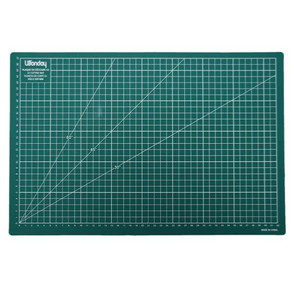 tapis de coupe autocicatrisant a3 300 x 450 mm
