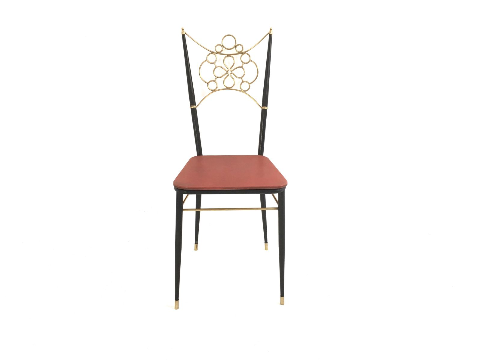Colorful Vintage Dining Chairs S Set Of 4 For Sale
