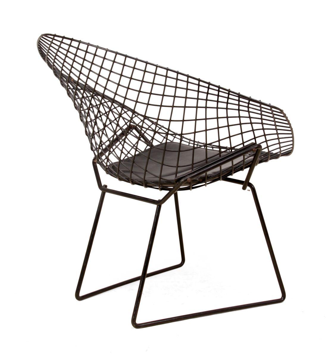 Chaise Harry Bertoia Bertoia Asymmetric Chaise Lounge