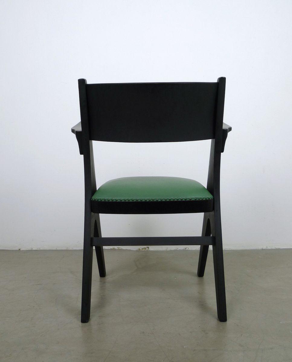 Grüner Sessel Modell Penguin von Carl Sasse für Casala ...