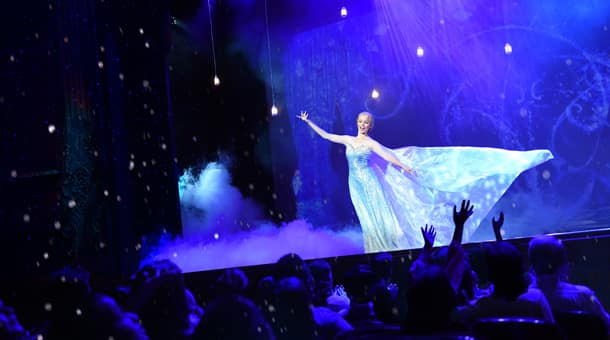 """Frozen, A Musical Spectacular"" Takes the Stage at Disney Cruise Line"