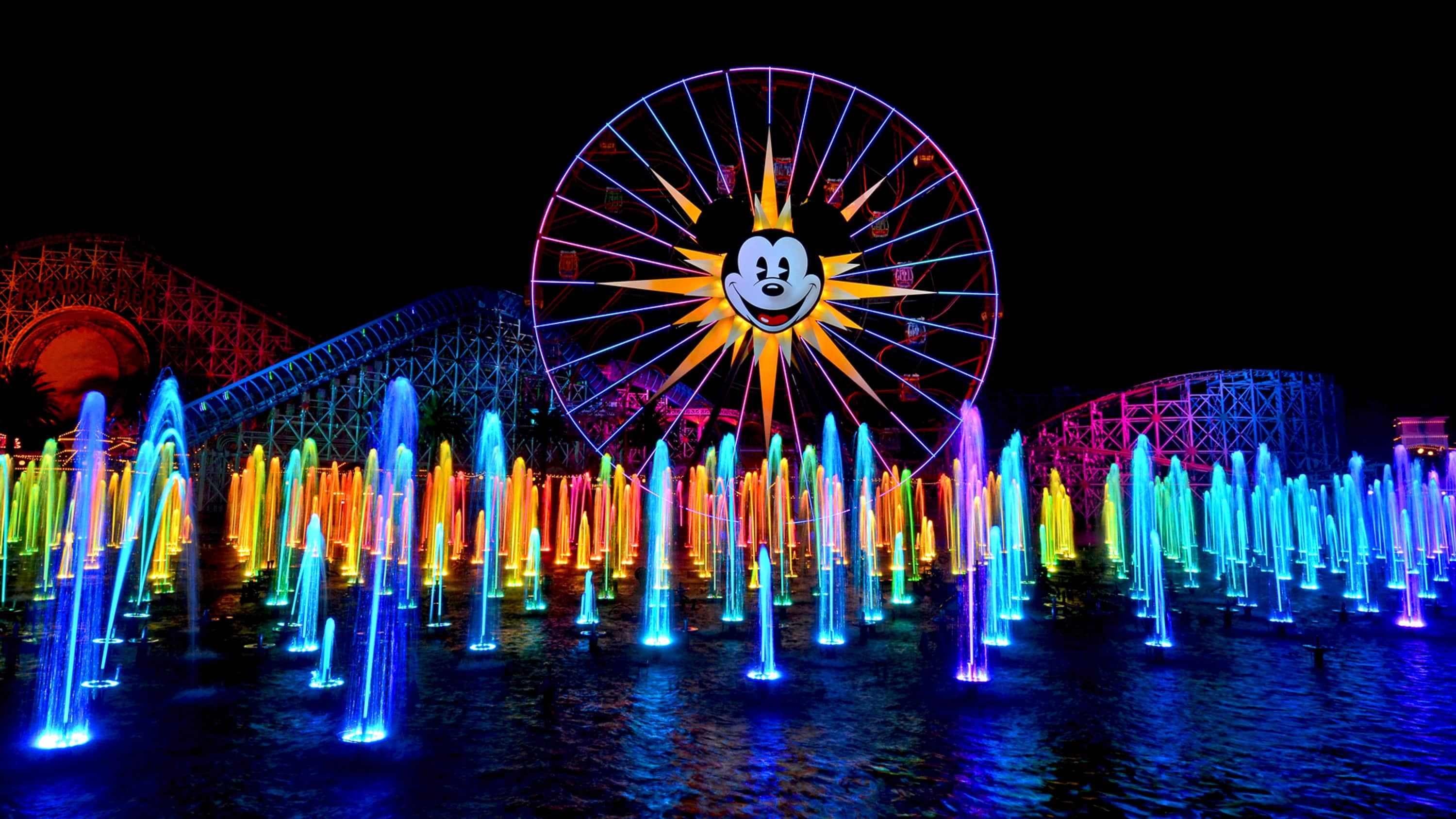World Of Color Season Of Light Is Glowing Into Disney