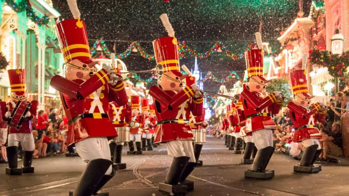 'Mickey's Once Upon a Christmastime Parade' During Mickey's Very Merry Christmas Party