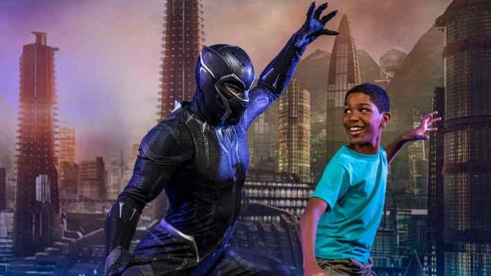 Meet Black Panther During Marvel Day at Sea with Disney Cruise Line