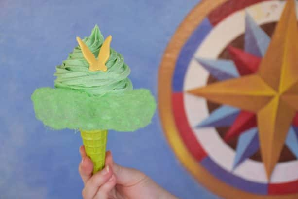 Tink's Pixie Dusted Cone at Storybook Treats at Magic Kingdom Park