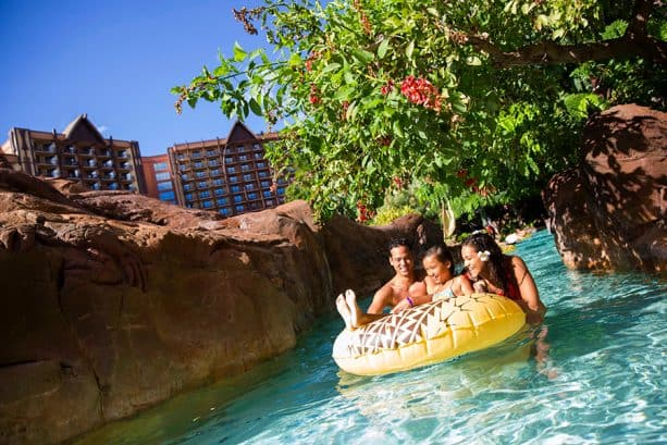 Waikolohe Valley at Aulani, a Disney Resort & Spa