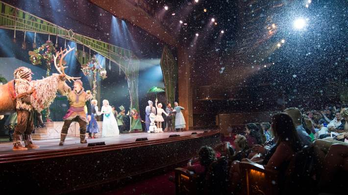 Frozen, A Musical Spectacular in the Disney Wonder