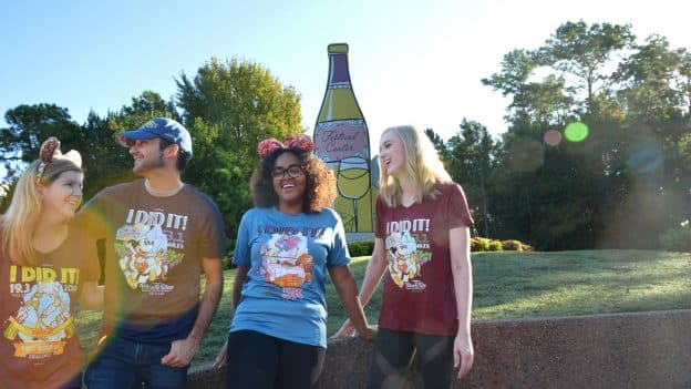 "2018 Disney Wine & Dine Half Marathon Weekend Merchandise - ""I Did It!"" T-shirts"