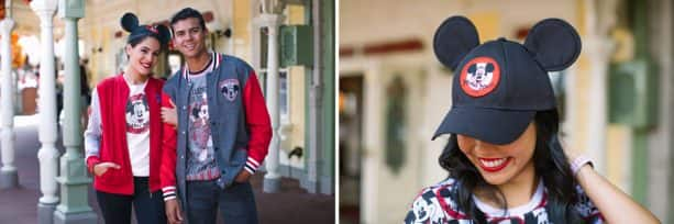 T-shirts, varsity jackets and hats inspired by 'The Mickey Mouse Club'