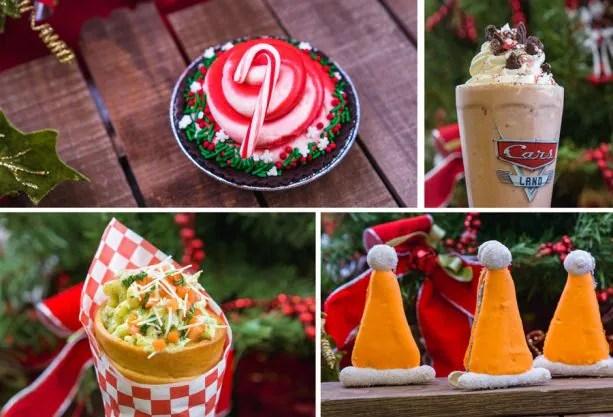 Holiday Treats from Cars Land at Disney California Adventure Park for 2018 Holidays at Disneyland Resort