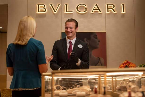 Bvlgari on the Disney Fantasy