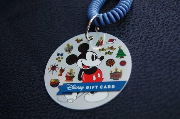 Mickey Holiday Gift Card