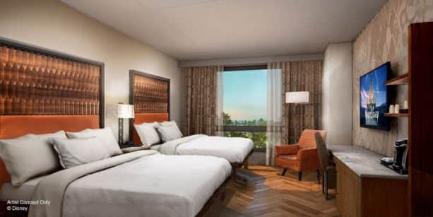 Room at Gran Destino Tower at Disney's Coronado Springs Resort