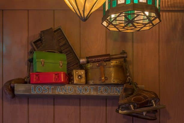 Lost and Not Found items, The Tropical Hideaway at Disneyland park