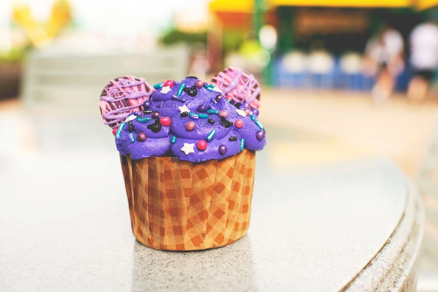 Purple Galaxy Cupcake at Disney's Art of Animation and Disney's Pop Century Resorts