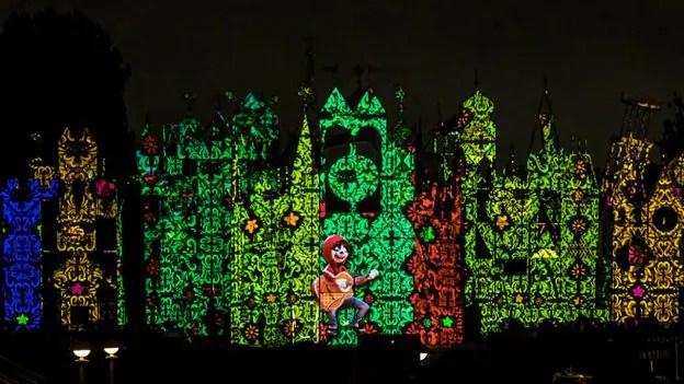 "colorful ""Un Poco Loco"" sequence from the Disney•Pixar film Coco"