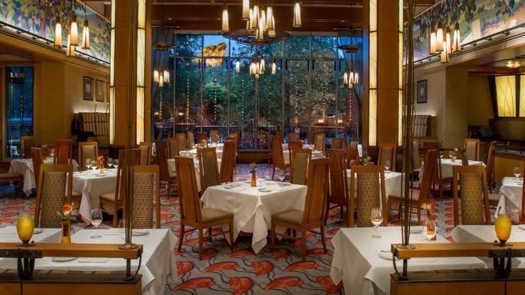 Napa Rose Dining Room at Disney's Grand Californian Hotel & Spa
