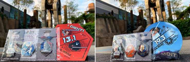 """I Did It!"" runDisney Star Wars merchandise"
