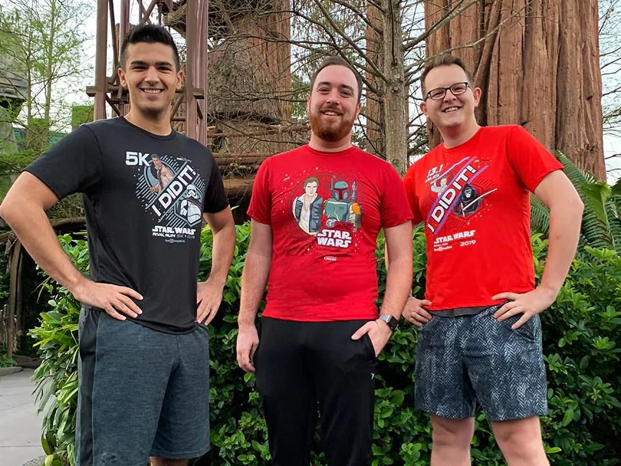Men's Star Wars runDisney Health & Fitness gear