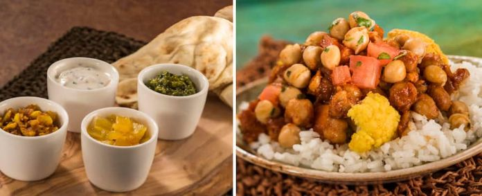 Offerings from the India Marketplace for the 2019 Epcot International Food & Wine Festival