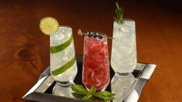 Specialty Non-Alcoholic Beverages from Enchanted Rose at Disney's Grand Floridian Resort & Spa
