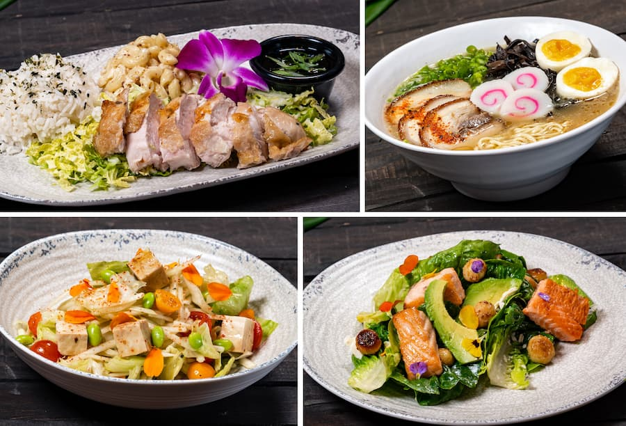 Lunch and Dinner Offerings from Tangaroa Terrace Tropical Bar & Grill at the Disneyland Hotel
