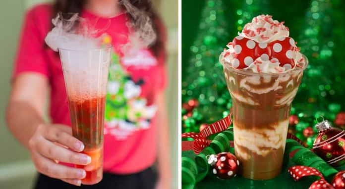 Holiday Beverages from Mickey's Very Merry Christmas Party at Magic Kingdom Park