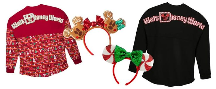 Holiday Merchandise at Disney Parks