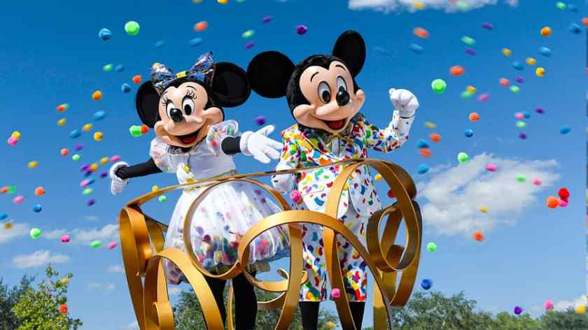 Mickey y Minnie 90 años de magia