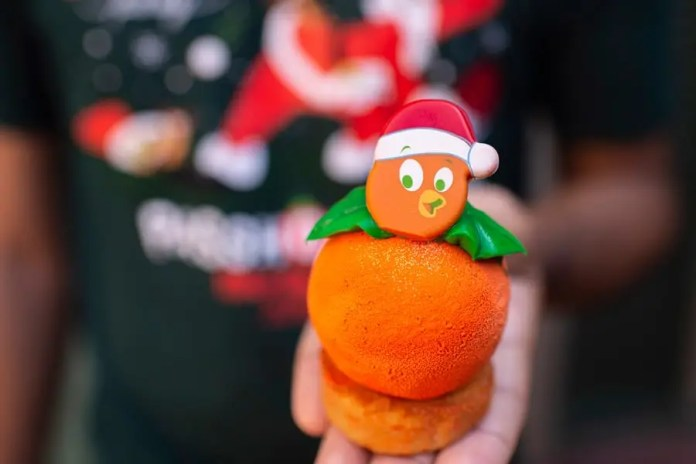An Orange Bird Christmas from Sunshine Tree Terrace for Mickey's Very Merry Christmas Party at Magic Kingdom Park