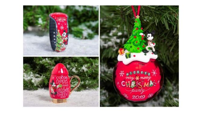 2019 Mickey's Very Merry Christmas Party merchandise