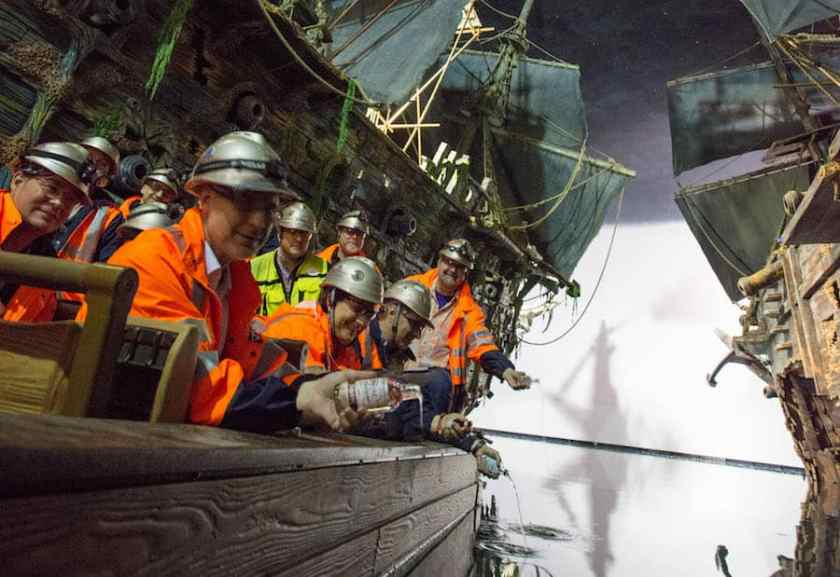 Piratas del Caribe: Batalla por el tesoro hundido en Shanghai Disneyland