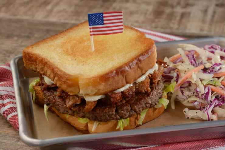Plant-Based Burger from Regal Eagle Smokehouse at Epcot
