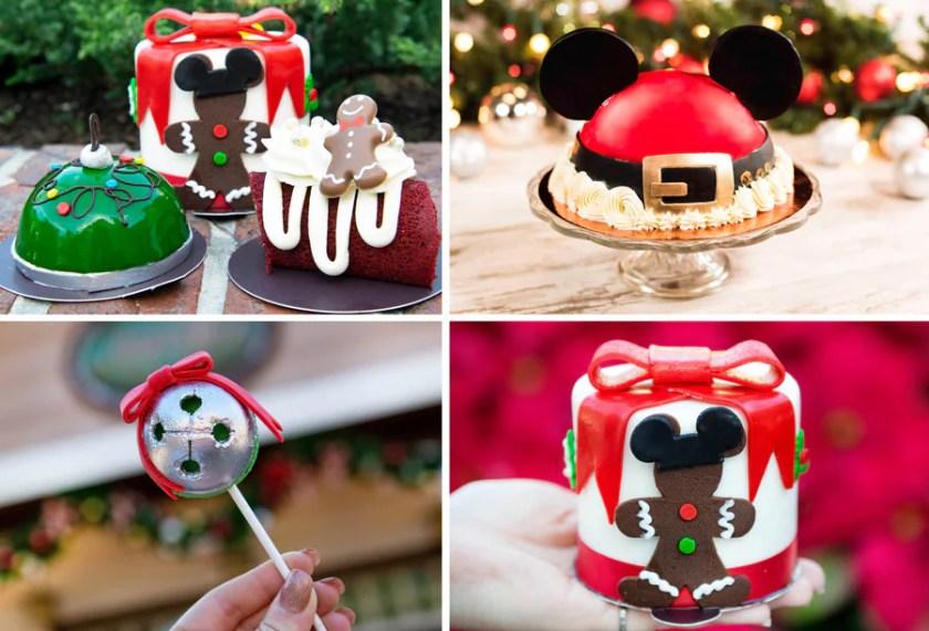 Ofertas navideñas de la pastelería de Amorette en Disney Springs