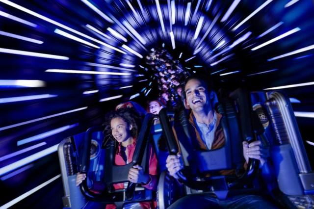 Star Wars Hyperspace Mountain at Disneyland Paris