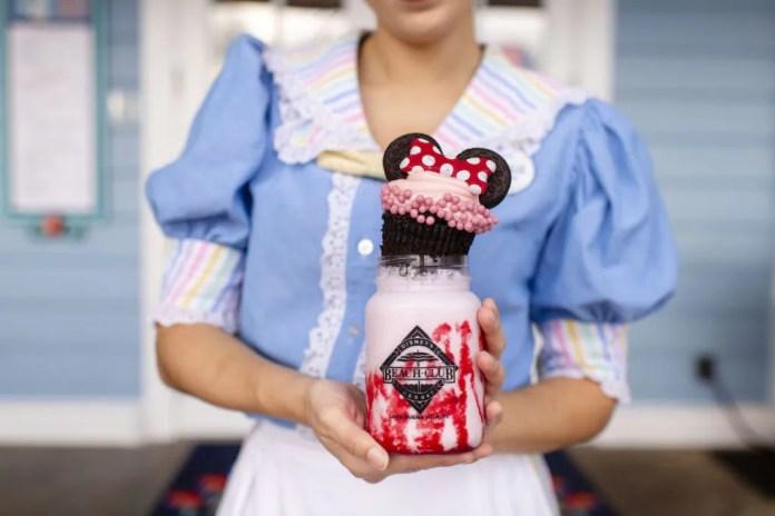 "Specialty Strawberry Shake from Beaches & Cream Soda Shop at Disney's Beach Club Resort""]"